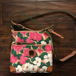 Dooney and Bourke floral crossbody